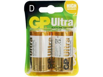 Picture of GP Batteries Ultra Alkaline - D 2 pcs.