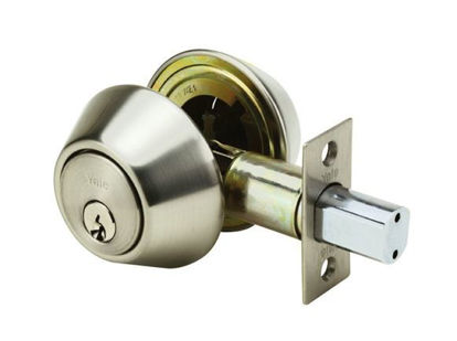 Picture of Yale Deadbolt Double Cylinder Satin Stainless Steel
