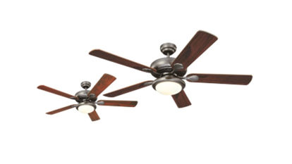 """Picture of Westinghouse Ceiling fan Euro Swirl, 5-blade 52"""" Brushed Nickel"""