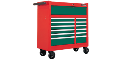 """Picture of Hans  9913HQ-42  42 """" Tool Cabinet - 13 Drawers Roll - Wagon"""