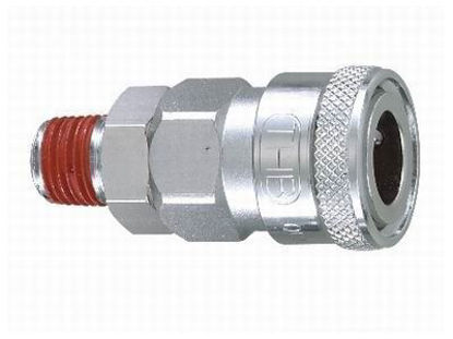 "Picture of THB 1/2"" Zinc Quickly Coupler Body - Male End"