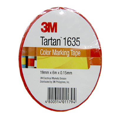 Picture of 3M Tartan Electrical Tape, Red