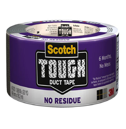 Picture of 3M Duct Tape Tough No Residue 20YD