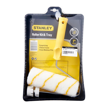 """Picture of STANLEY PAINT ROLLER COMPLETE 7"""" & TRAY"""