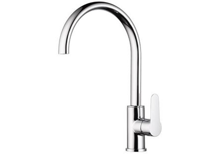 Picture of Delta Single Handle Kitchen faucet, Loop Handle 33501-LP