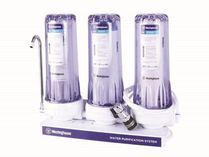 Picture of Westinghouse 3 Stage Water Filter WHWWPS106A3
