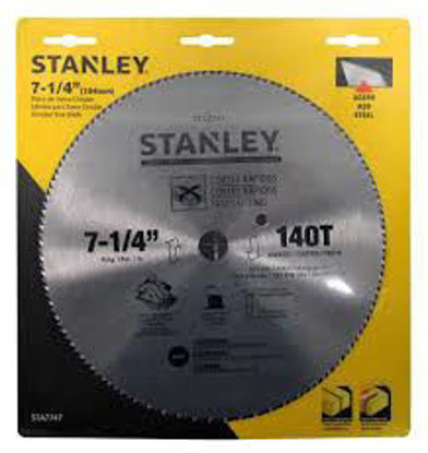 Picture of Stanley Circular Saw Blade Carbide Teeth 140T x 7-1/4