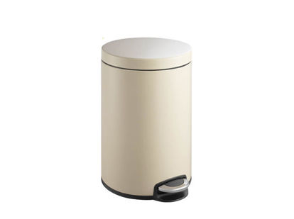 Picture of EKO Serene Step Trash Bin 5L EKEK9215PWH5L