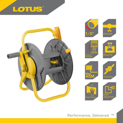"Picture of Lotus Hose Reel 45M X 1/2"" LTGT45HRX"
