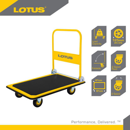 Picture of Lotus Steel Platform Truck LP150PTX