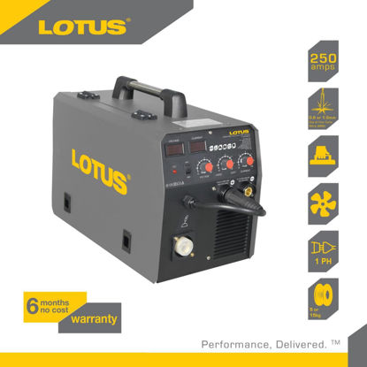 Picture of Lotus Mig Inverter Welder 250A LT250MXT