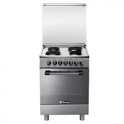Picture of Tecnogas P3X66E04 60cm, 4 Electric Hotplates + Electric Multifunction Oven | Order Basis