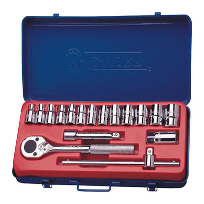 Picture of 18-Piece Socket Set K0009