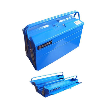 Picture of Hand-away Tool Box With Trays L0043