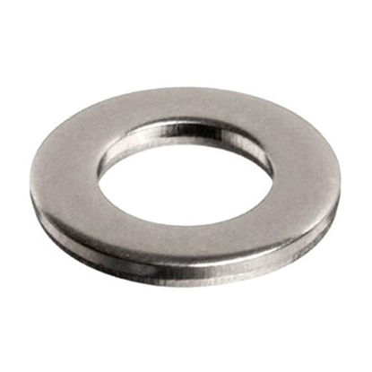 Picture of 10Pcs Stainless Flat Washer, 304 Stainless Flat Washer - Inches Size
