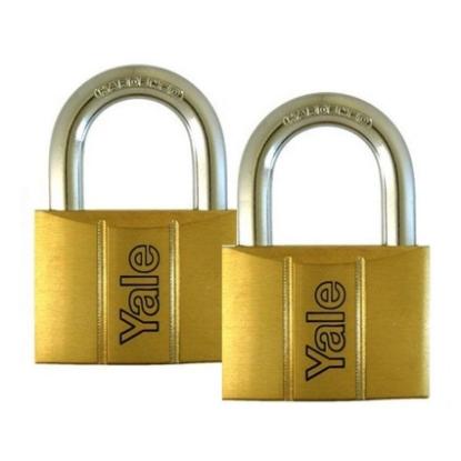 Picture of Brass Padlocks Key Alike 2 Pieces, Multi-Pack V140.50KA2