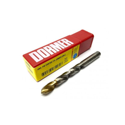 Picture of Dormer Titanium Coated Jobber Drill Bit A-002, Metric Size