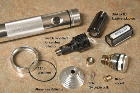 Picture for category Flashlight Parts & Accessories