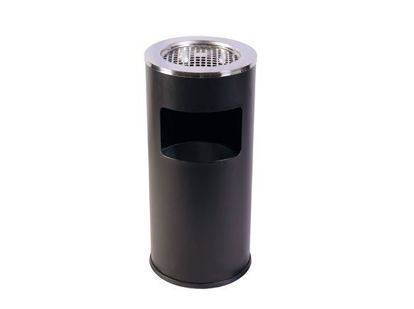 Picture of EKO Trash Bin & Ashtray with Galvanized EK9412A-PS