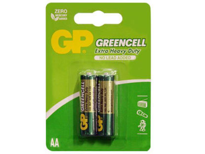 Picture of GP Batteries Greencell - AA 2 pcs.
