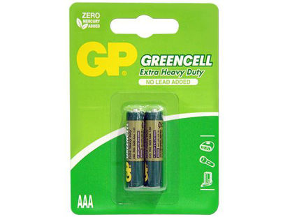 Picture of GP Batteries Greencell - AAA 2 pcs.