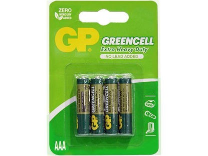 Picture of GP Batteries Greencell - AAA 4 pcs.