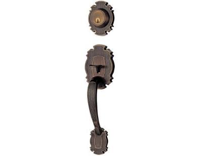 Picture of Ezset Antique Brass Single Handleset EZ400BI/BAUS5