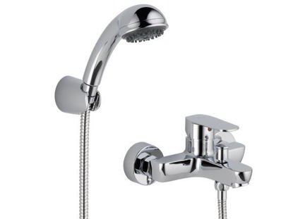 Picture of Delta Elemetro Series On-Wall Tub And Shower, 3 Setting Handshower
