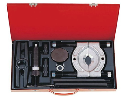 """Picture of Licota ATB-1074 10 Tons 6"""" Hydraulic Bearing Separator Set (Black/Silver)"""