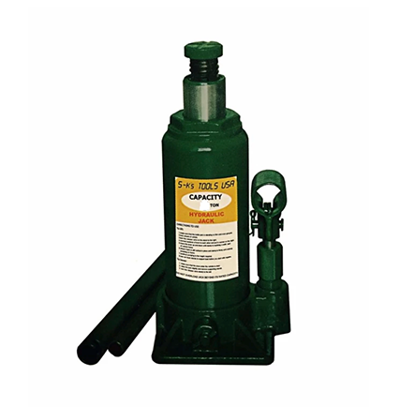 Picture of S-Ks Tools USA JM-10030SH 30 Tons Hydraulic Bottle Jack (Green)