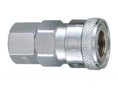 "Picture of THB 1/2"" Zinc Quick Coupler Body - Female End"