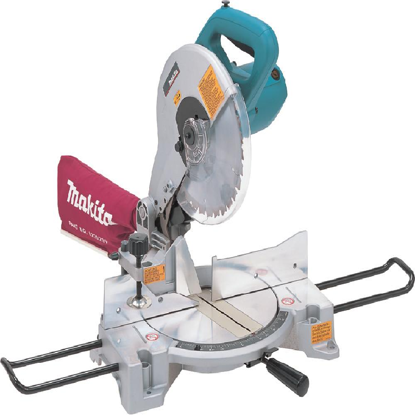 Picture of Makita LS1040 Compound Miter Saw (1650W) with Carbon Brush and Protective Spectacles