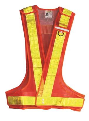 Picture of Lotus LRV2405LO  Reflective Vest (Orange)