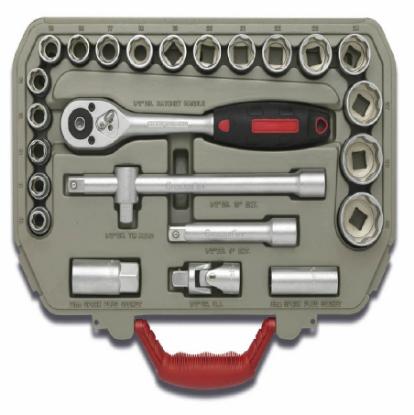 Picture of Crescent 25Piece Socket Set CTK25EU