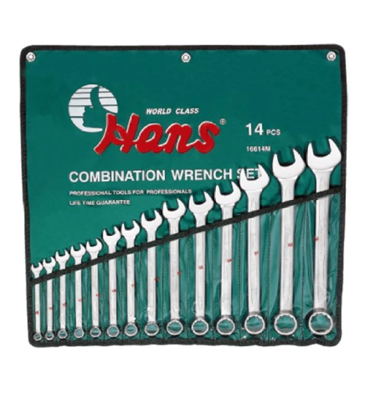Picture of Hans 16614M Combination Wrench Set