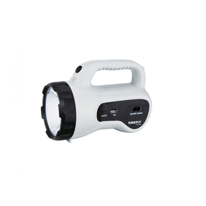 Picture of Firefly Powerful Torch Light with USB Mobile Phone Charger FEL556