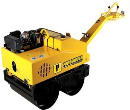 Picture of Powerhouse Road Roller Double Drum PHRR-DD600-186FA-12HP DSL