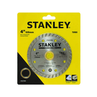 "Picture of STANLEY  DIAMOND BLADE TURBO 4""X.080 X 7X20MM"