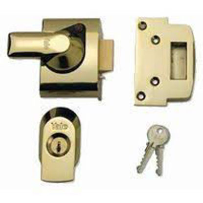 Picture of ZENITH NIGHT LATCH 60MM ANT.BRASS