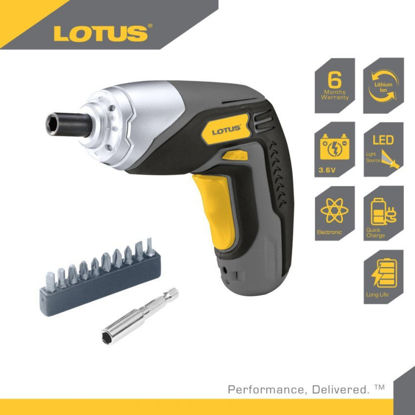 Picture of Lotus Screwdriver 3.6V LTCD3600