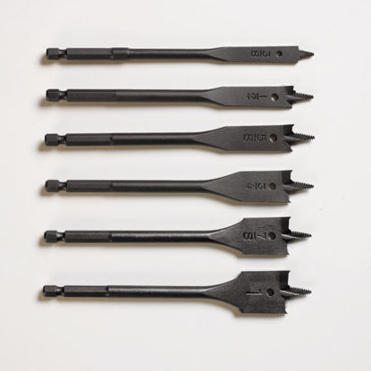 Picture of Lotus Wood Spade Bit Set 6PC LFWS602