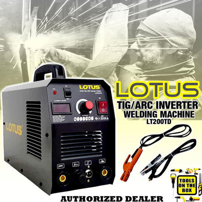 Picture of Lotus Tig/Arc Inverter 200A #TW180D LT200TD