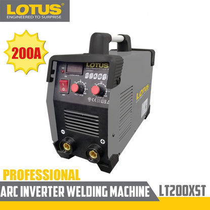Picture of Lotus Arc Inverter Welder (PRO) 200A LT200SXT