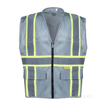 Picture of Safety Vest (Gray)- SVEST