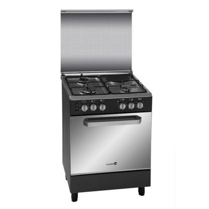 Picture of Fujidenzo FGR 6631VTRMB 60CM Range, 3 Gas Burners + 1 Electric Hotplate