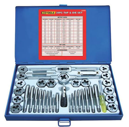 Picture of 40 Piece Tap And Die Set-metric And Unc A1012