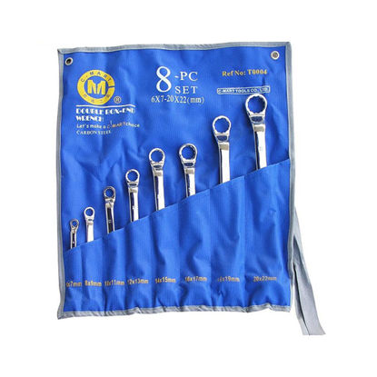 Picture of 8-Piece Double Box-end Wrench Set T0004