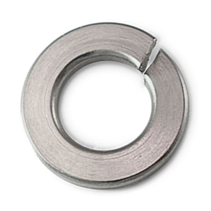 Picture of 316 Stainless Steel Lock Washer Inches Size