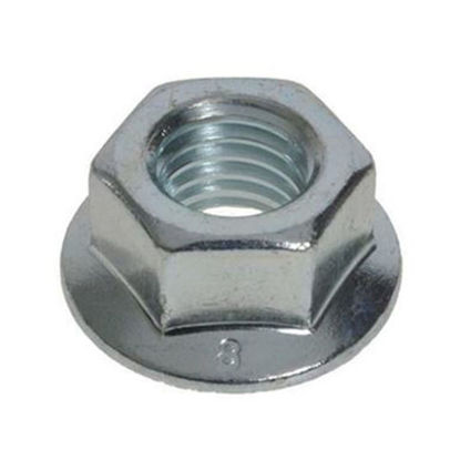 Picture of Flanged Plated Nut , Metric Size