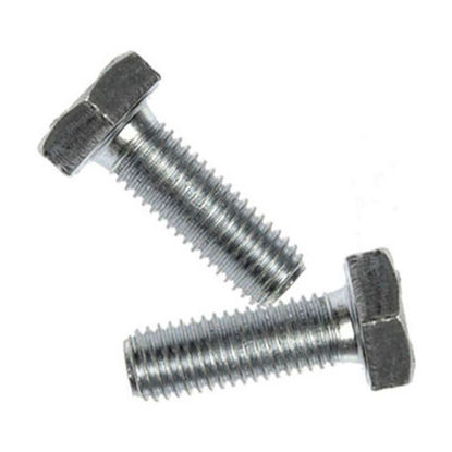 Picture of Galvanized Hexagonal Cap Screw, G.i. Hex Cap Screw, Full Thread Hex Tap Bolts